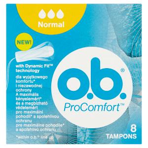 O.B. ProComfort Normal tampony 8 ks