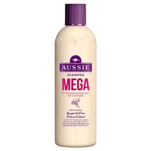 Aussie Mega Šampon Pro Mega Pocit Čistoty Každý Den 300ml