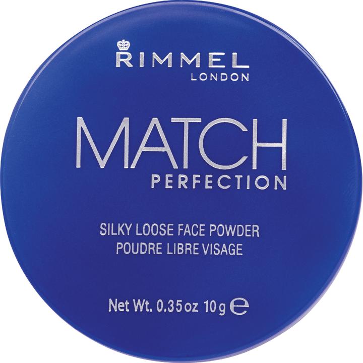 Rimmel London pudr Match Perfection transparentní