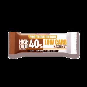 Keto tyčinka  PRO-TE(BE)-IN Low carb lískový ořech 35 g