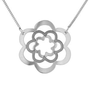 PRAQIA Stříbrný náhrdelník Persea