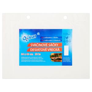 Q-Clean Svačinové sáčky 30 x 40 cm 50 ks