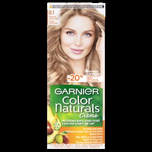 Garnier Color Naturals permanentní barva na vlasy 8.1 platinová světlá blond, 60+40+12ml