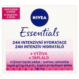 Nivea Essentials Výživný denní krém suchá až citlivá pleť 50ml