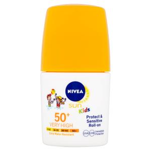 Nivea Sun Protect & Sensitive Dětské mléko na opalování v kuličce OF 50+ 50ml