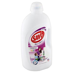 Savo Bez chlóru Color prací gel na barevné prádlo 70 praní