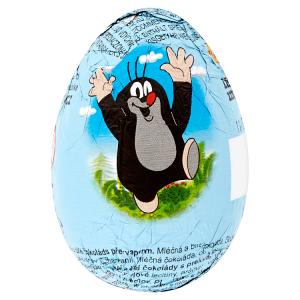 Vajíčko z mléčné a bílé čokolády s překvapením 20g