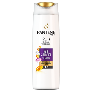 Pantene Pro-V Superfood 3v1 Šampon + Balzám + Maska 360 ml