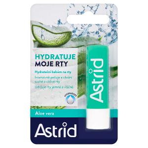 Astrid Hydratační balzám na rty aloe vera 4,8g