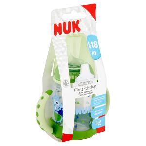 Nuk First Choice lahvička na učení s držátky PP 150ml