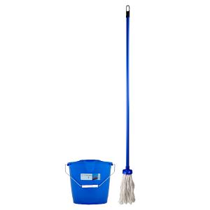 Q-Clean Mop s příslušenstvím vědro + mop + košík 1 ks