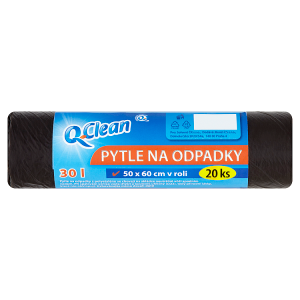 Q-Clean Pytle na odpadky 30l 20 ks