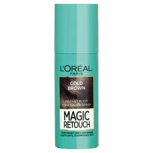 L'Oréal Paris Magic Retouch Sprej pro okamžité zakrytí odrostů ledově hnědá 75ml