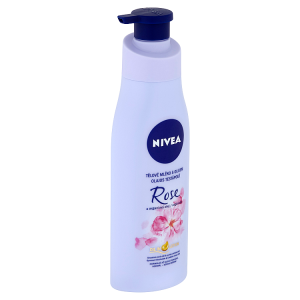 Nivea Růže & arganiový olej Tělové mléko s olejem 200ml