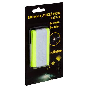 Reflexní elastická páska 4x33cm