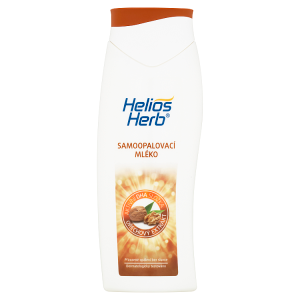 Helios Herb Samoopalovací mléko s ořechovým extraktem 200ml