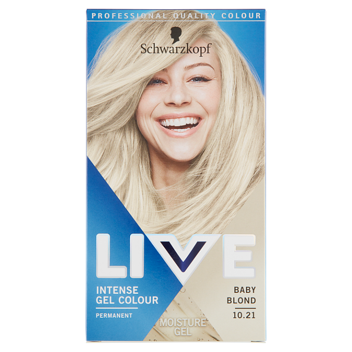 E-shop Schwarzkopf Live barva na vlasy Baby Blond 10.21