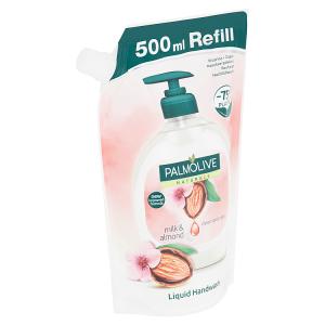 Palmolive Milk & Almond tekuté mýdlo náhradní náplň 500ml
