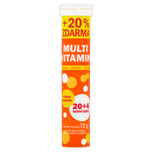 Vitar Multivitamin 24 šumivé tablety 72g
