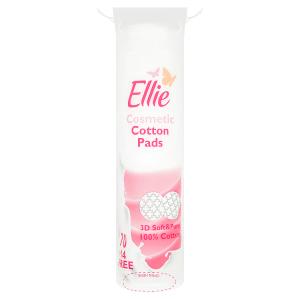 Ellie Kosmetické vatové polštářky 84 kusů