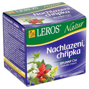 Leros Natur Nachlazení, chřipka bylinný čaj 10 x 1,5g