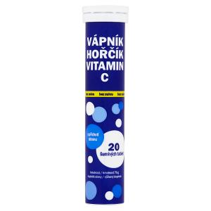 Vitar Vápník hořčík vitamin C 20 šumivých tablet 76g