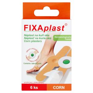Fixaplast Náplast na kuří oka 6 ks