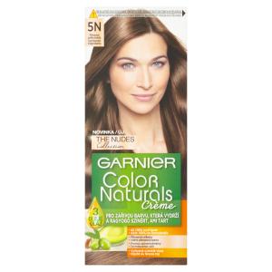 Garnier Color Naturals permanentní barva na vlasy 5N přirozená světle hnědá, 60+40+12ml