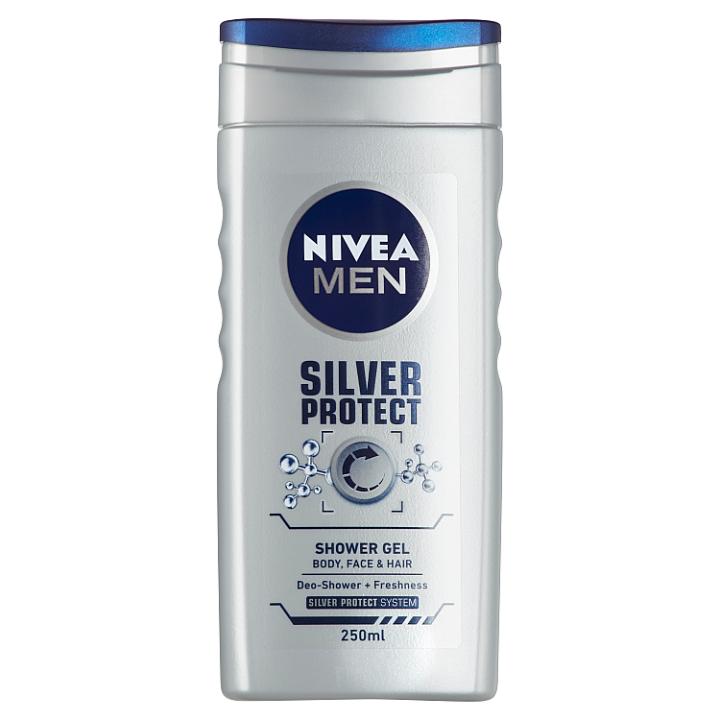 Nivea Men Silver Protect Sprchový gel 250ml