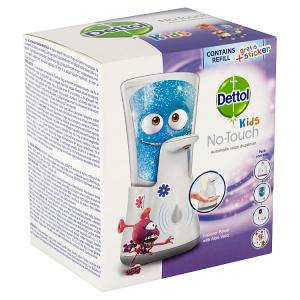 Dettol Kids Bezdotykový dávkovač mýdla a náplň 250ml