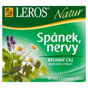 Leros Natur Spánek, nervy bylinný čaj 10 x 1,3g