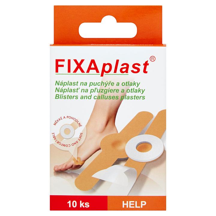 Fixaplast Náplast na puchýře a otlaky 10 ks