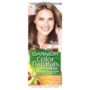Garnier Color Naturals permanentní barva na vlasy 7N přirozená blond, 60+40+12ml