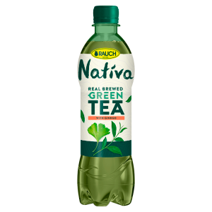 Rauch Nativa Zelený čaj s ginkgem 0,5l