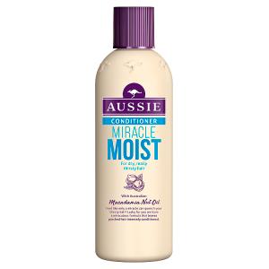 Aussie Miracle Moist Balzám Pro Suché, Žíznivé Vlasy 250ml