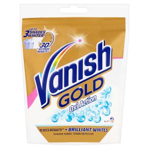 Vanish Gold Oxi Action odstraňovač skvrn na bílé prádlo 10 praní 300g