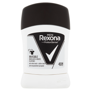 Rexona Men tuhý antiperspirant Invisible on Black+White clothes 50ml