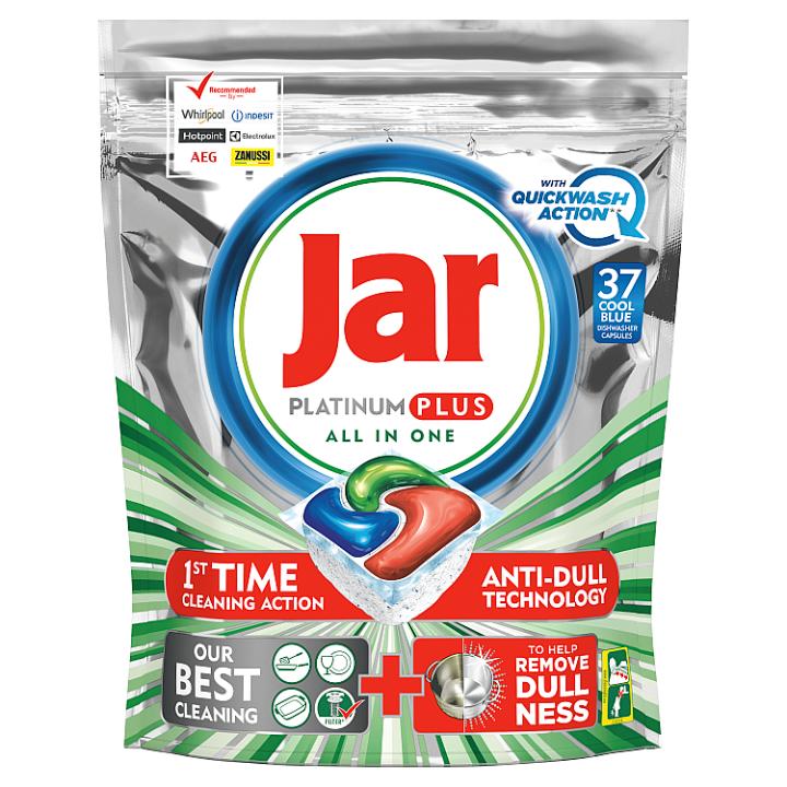 Jar Platinum Plus Regular Kapsle Do Automatické Myčky Nádobí, 37 ks