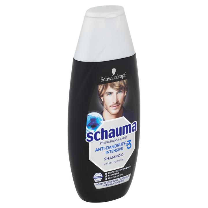 Schauma šampon Anti-dandruff Intensive X3 400ml