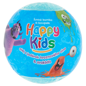 Happy Kids Šumivá bomba do koupele 100g - mix variant