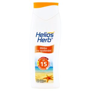 Helios Herb Mléko na opalování OF 15 200ml