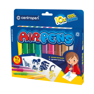 Centropen Foukací fixy Air pens cool 10 ks