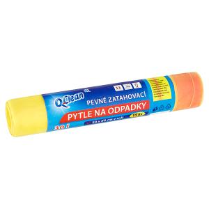 Q-Clean Pytle na odpadky pevné zatahovací 30l 15 ks