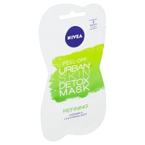 Nivea Urban Skin Detox Slupovací zjemňující maska 2 x 5ml