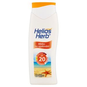 Helios Herb Mléko na opalování OF 20 200ml