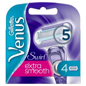 Venus Swirl Extra Smooth Náhradní Holicí Hlavice 4x