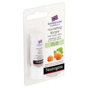 Neutrogena Výživný balzám na rty Nordic Berry suché rty 4,9g