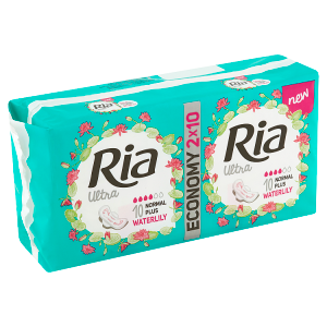 Ria Ultra Normal Plus Waterlily vložky 2 x 10 ks