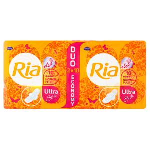 Ria Ultra Silk Normal Plus Deo vložky 2 x 10 ks