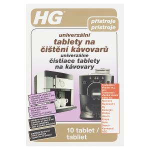 HG Univerzální tablety na čištění kávovarů 10 tablet